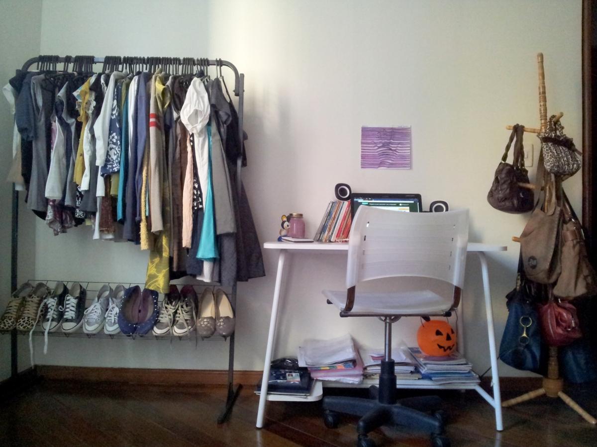 Organizando meu quarto!