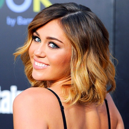 Miley-Cyrus-Ombre-Hair