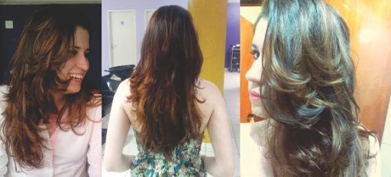 ombre hair liso