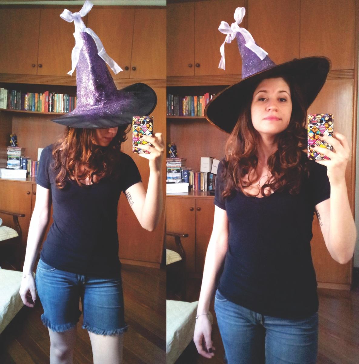 DIY: chapéu de bruxa!