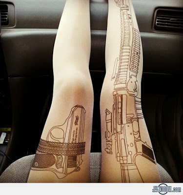 Machine-Gun-Tattoo-Tights