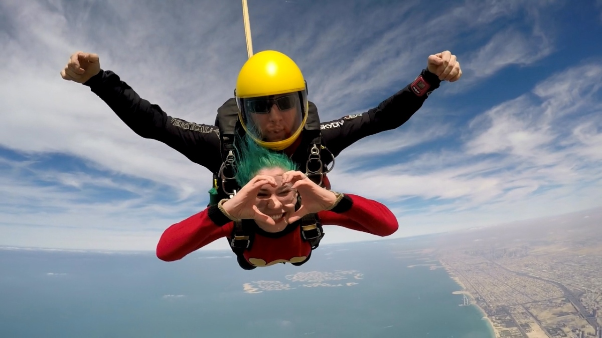My experience at Skydive Dubai!!