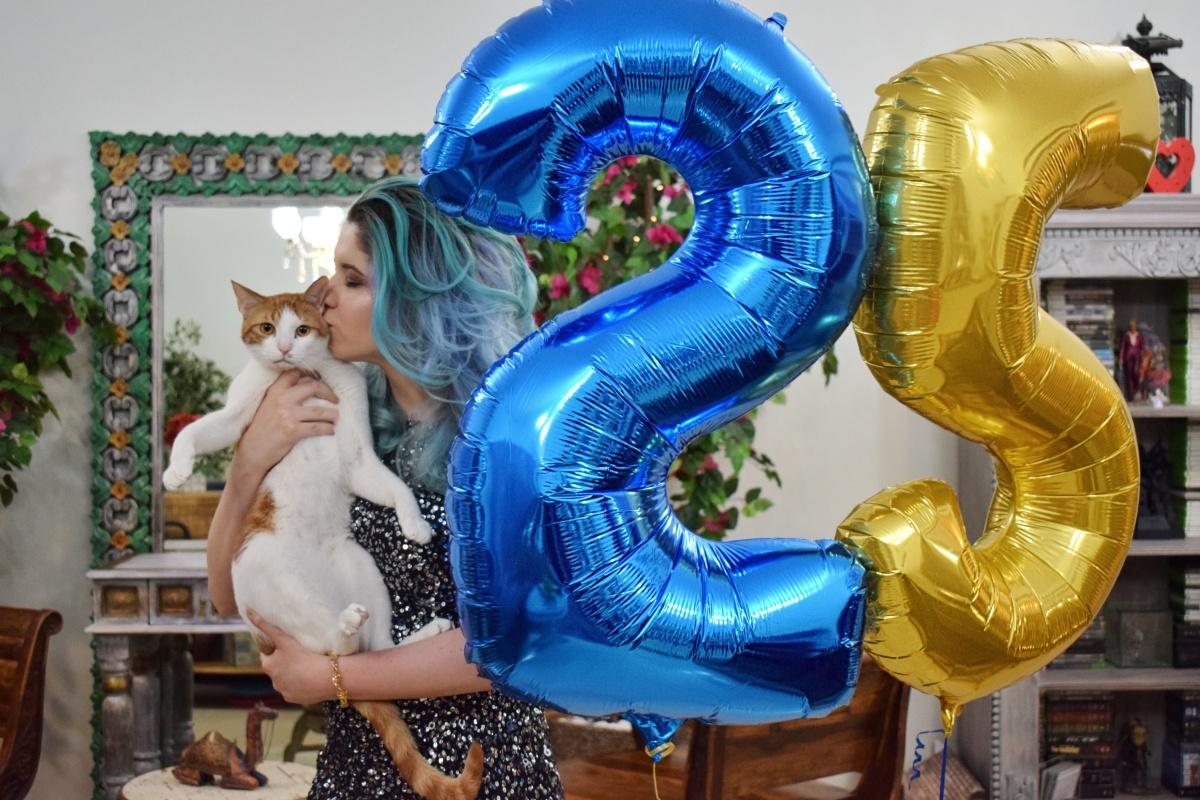 I turned 25!!